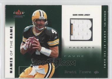 2002 Fleer Genuine [???] #BF-NG - Brett Favre /500