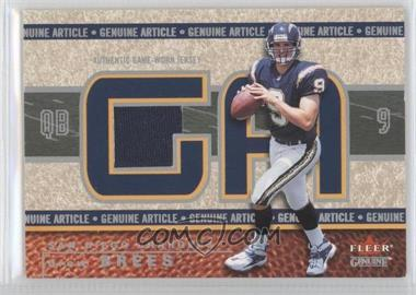 2002 Fleer Genuine Genuine Article 500 #GA-DB - Drew Brees /500