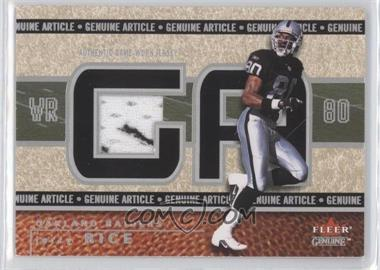 2002 Fleer Genuine Genuine Article #GA-JR - Jerry Rice