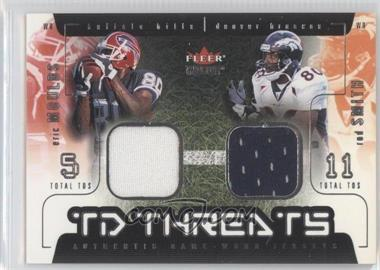 2002 Fleer Genuine TD Threats Jerseys [Memorabilia] #EMRS - Eric Moulds, Rod Smith