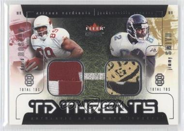 2002 Fleer Genuine TD Threats Patches [Memorabilia] #N/A - Jimmy Smith /19