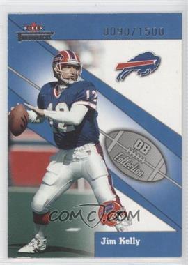 2002 Fleer Throwbacks [???] #13QB - Jim Kelly /1500