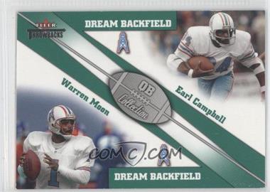 2002 Fleer Throwbacks [???] #2 - Warren Moon, Earl Campbell