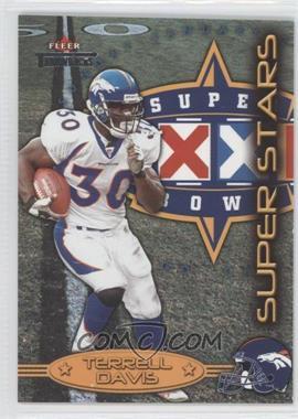 2002 Fleer Throwbacks [???] #2SS - Terrell Davis