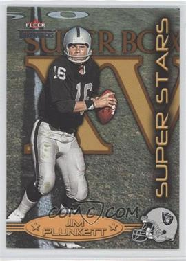 2002 Fleer Throwbacks [???] #4SS - Jim Plunkett