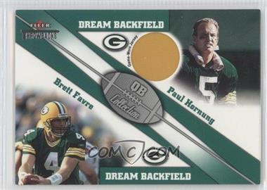 2002 Fleer Throwbacks [???] #N/A - Paul Hornung, Brett Favre