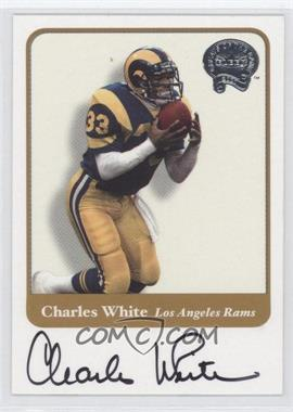2002 Fleer Throwbacks Greats of the Game Autographs #N/A - Chris White