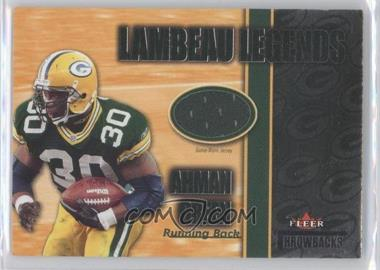 2002 Fleer Throwbacks Lambeau Legends #N/A - Ahman Green