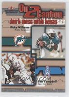 Ricky Williams, Earl Campbell