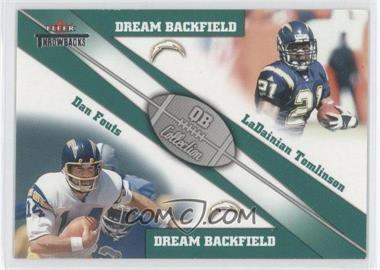 2002 Fleer Throwbacks QB Collection Dream Backfields #4 DB - [Missing]
