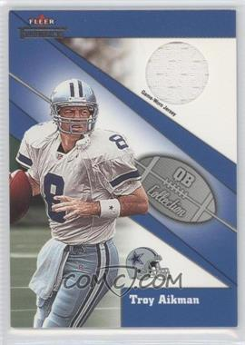 2002 Fleer Throwbacks QB Collection Jerseys [Memorabilia] #TRAI - Troy Aikman