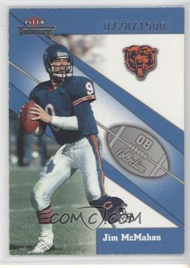 2002 Fleer Throwbacks QB Collection #12 QB - Jim McMahon /1500