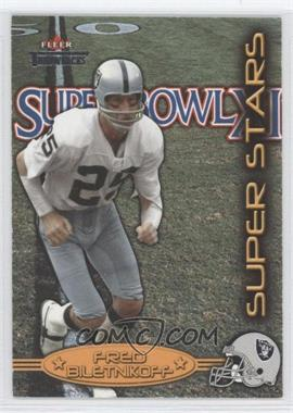 2002 Fleer Throwbacks Super Stars #5 SS - Fred Biletnikoff