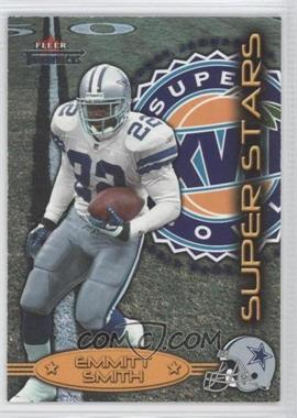 2002 Fleer Throwbacks Super Stars #7 SS - Emmitt Smith