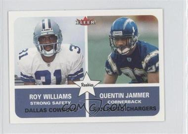 2002 Fleer Tradition - [Base] - Mini #277 - Quentin Jammer /125