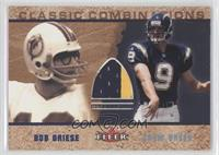Bob Griese, Drew Brees (Jersey)