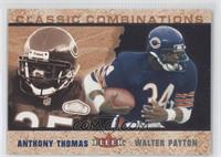 Anthony Thomas, Walter Payton /2000