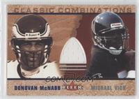 Donovan McNabb (Jersey), Michael Vick