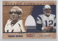 Brian Griese, Tom Brady (Jersey)