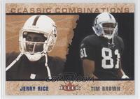 Jerry Rice, Tim Brown /2000