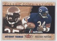 Anthony Thomas, Walter Payton /2000