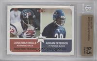 Jonathan Wells, Adrian Peterson, Adrian Peterson [BGS 9.5]