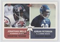 Jonathan Wells, Adrian Peterson, Adrian Peterson