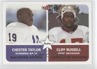 Chester Taylor, Cliff Russell