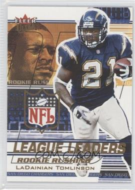 2002 Fleer Ultra League Leaders #5 LL - LaDainian Tomlinson