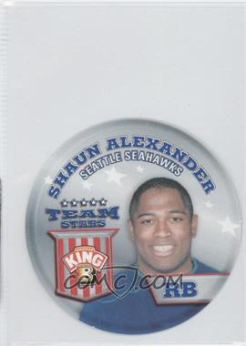 2002 King B Collector's Edition Team Stars Discs - [Base] #14 - Shaun Alexander