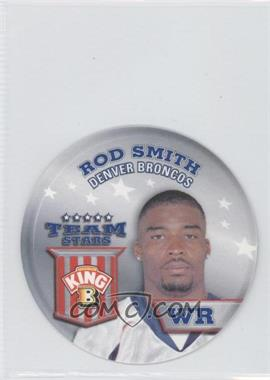 2002 King B Collector's Edition Team Stars Discs - [Base] #2 - Rod Smith
