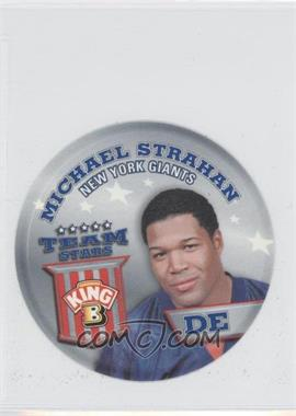2002 King B Collector's Edition Team Stars Discs - [Base] #7 - Michael Strahan