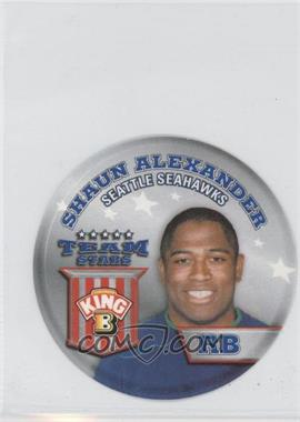 2002 King B Collector's Edition Team Stars Discs #14 - Shaun Alexander