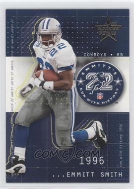 2002 Leaf Rookies & Stars - Emmitt's Run With History #RH-7 - Emmitt Smith /1204