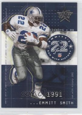 2002 Leaf Rookies & Stars Emmitt's Run With History #RH-2 - Emmitt Smith /1563
