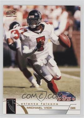 2002 NFL Player of the Day - [Base] #NFLPOD4 - Michael Vick