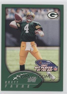 2002 NFL Player of the Day #NFLPOD5 - Brett Favre