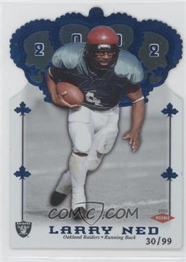 2002 Pacific Crown Royale - [Base] - Blue #196 - Larry Ned /99