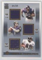 Ray Lewis, Chris Redman, Travis Taylor /25