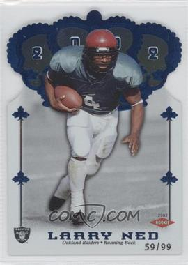 2002 Pacific Crown Royale Blue #196 - Larry Ned /99