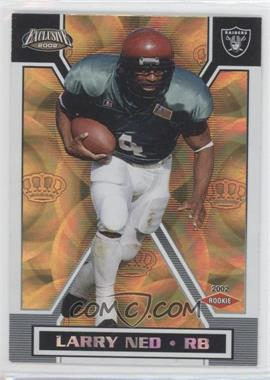 2002 Pacific Exclusive - [Base] - Gold #125 - Larry Ned