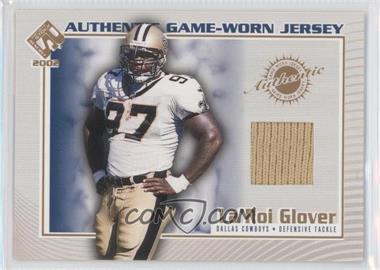 2002 Pacific Private Stock Reserve Authentic Game-Worn Jersey #38 - La'Roi Glover