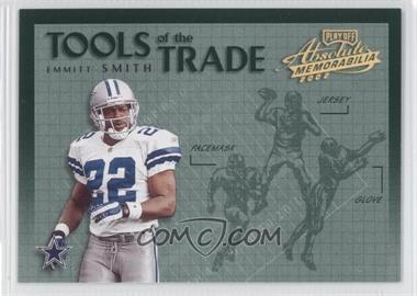 2002 Playoff Absolute Memorabilia - Tools of the Trade - Gold #TT-1 - Emmitt Smith
