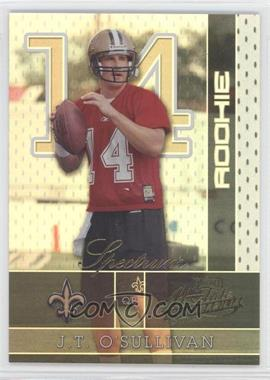 2002 Playoff Absolute Memorabilia Spectrum #157 - J.T. O'Sullivan /50