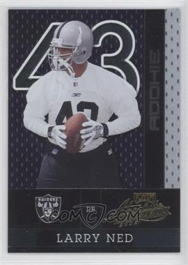 2002 Playoff Absolute Memorabilia #166 - Larry Ned /1500