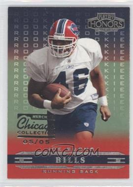2002 Playoff Honors - [Base] - Chicago Collection #131 - Joe Burns /5