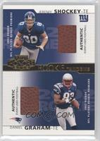 Jeremy Shockey, Daniel Graham /250