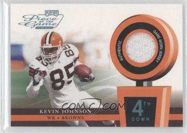 2002 Playoff Piece of the Game Materials 4th Down #POG-33 - Kevin Johnson /25