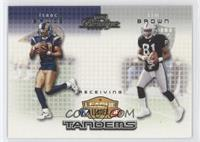 Isaac Bruce, Tim Brown