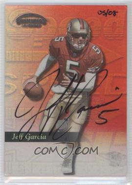 2002 Playoff Prime Signatures [???] #113 - Jeff Garcia /8